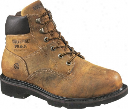 """wolverine Saturn Boot 6"""" St Eh (men's) - Brown"""