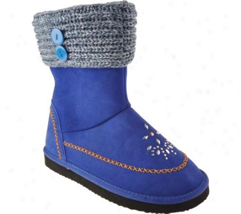 Woolenstocks Sweater Woogos Ww505 (infants') - Turquoise Suede