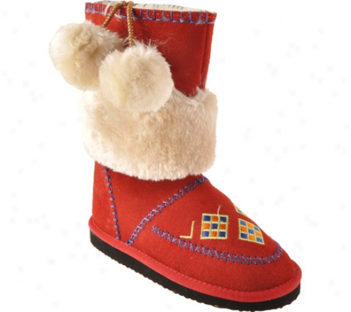 Woolenstocks Woogos Ww501 (infants') - Red Suede