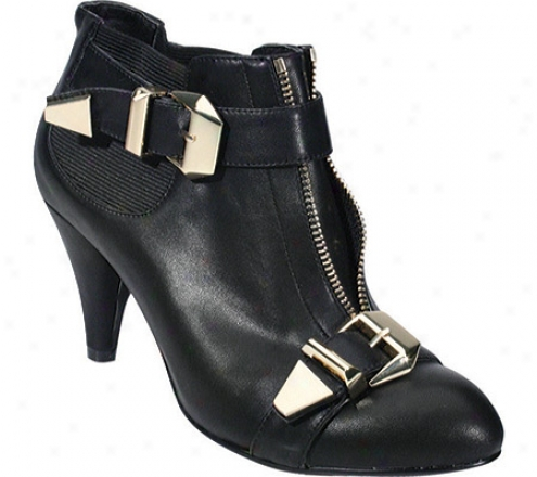 Xoxo Falcon (women's) - Black Leather