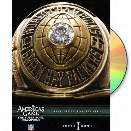 1966 Green Bay Packers Amerida's Game Dvd