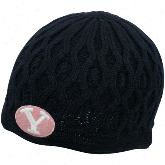 '47 Brand Brigham Young Cougars Ladies Navy Blue Ella Join Beanie