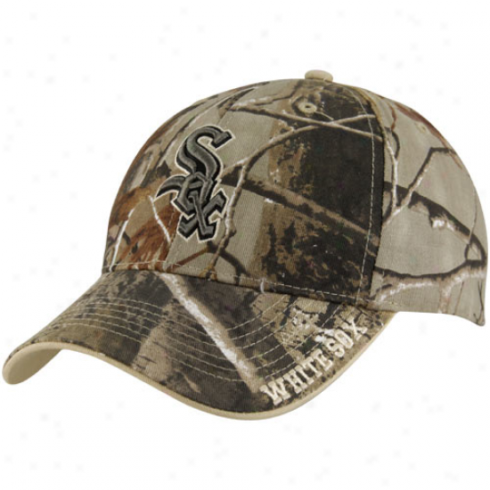 '47 Brand Chicago White Sox Realtree Camp Frost Cleanup Adjustable Cardinal's office