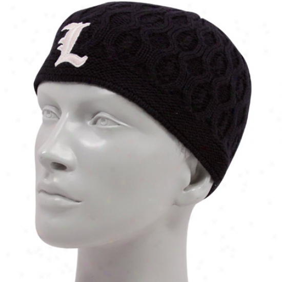 '47 Brand Louisville Cardinals Ladies Navy Blue Ella Knit Beanie