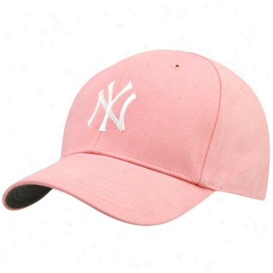 '47 Brand New York Yankees Infant Rose Home Team Logo Adjustable Hat
