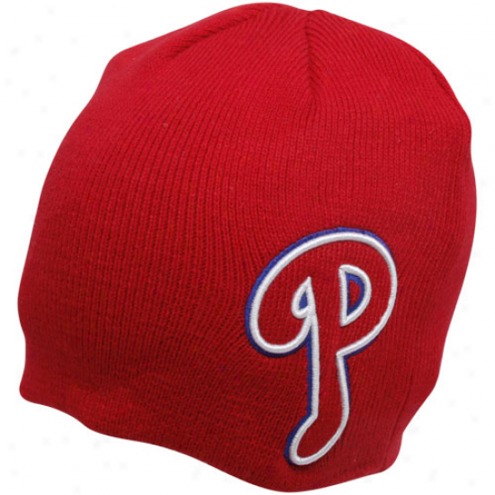 '47 Brand Philadelphia Phillies Red Mammoth Knit Beanie