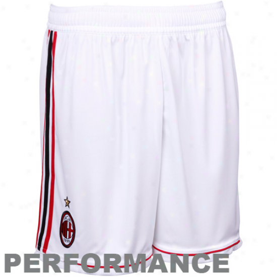 Adidas Ac Milan White Home Performance Soccer Suddenly 11/12