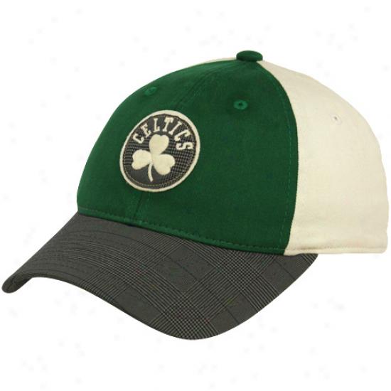 Adidas Boston Celtics Kelly Green-white Fashion Flex Hat
