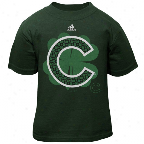 Adidas Chicago Cubs Toddler Clover Clusetr T-shirt - Green