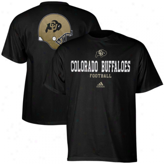 Adidas Colorado Buffa1oes College Eyes T-shirt - Black