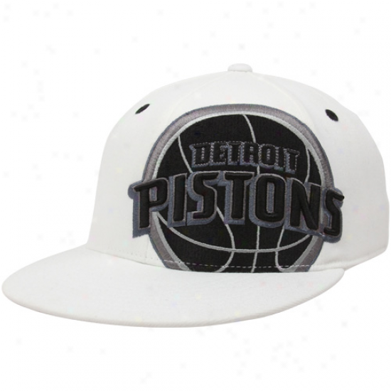 Adidas Detroit Pistons White Shudder Flex Cardinal's office