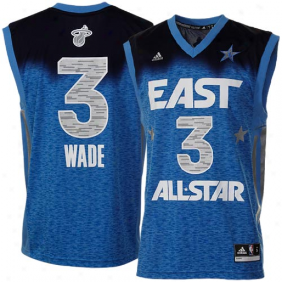 Adidas Dwyane Wade 2012 East All-star Replica Jersey - Royal Blue