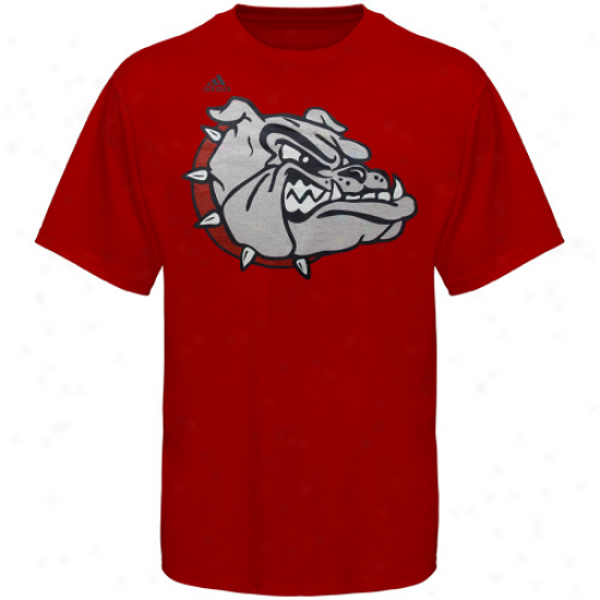 Adidas Gonzaga Bulldogs Second Best T-shirt - Red