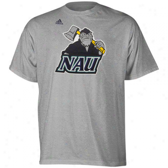 Adidas Norther nArizona Lumberjacks Second Best T-shirt - Ash