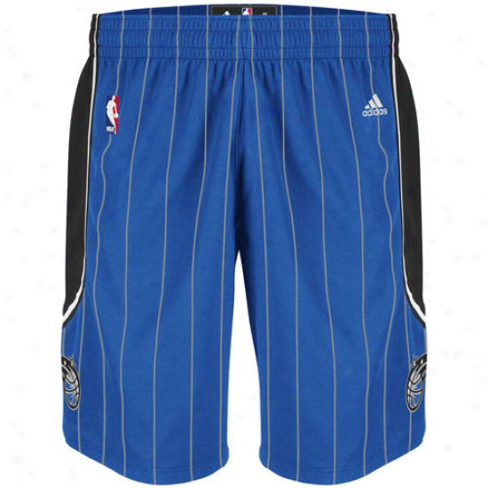Adidas Orlando Magic Royal Blue Swingman Shorts