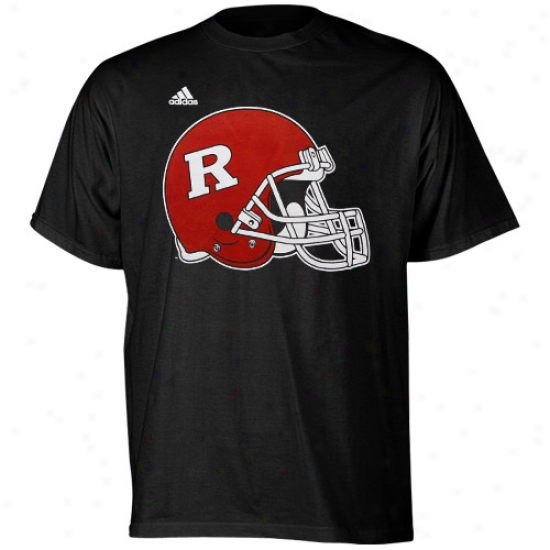 Adidas Rutgers Scarlet Knights Second Utmost T-shirt - Black