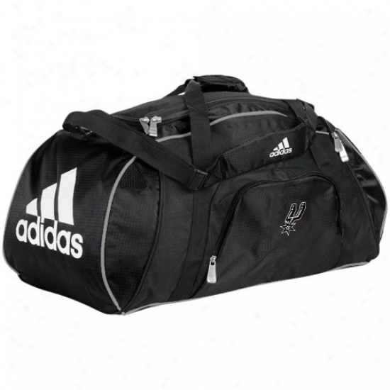 Adidas San Antonio Spurs Dismal Team Logo Gym Duffel Bag