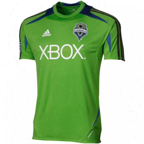 Adidas Seattle Sounders Fc Pregame Jersey - Green