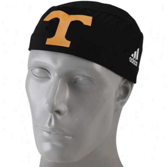 Adidas Tennessee Volunteers Black Players Compressjon Skully