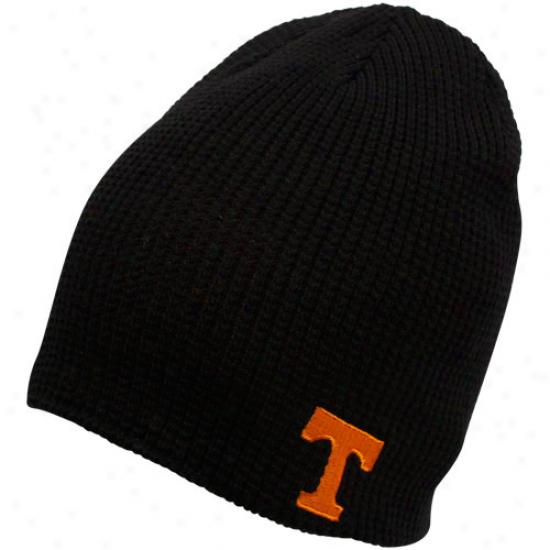 Adidas Tennessee Volunteers Tennessee Orange-black Double Coverage Reversible Beanie