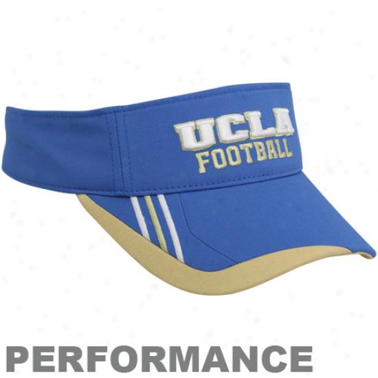 Adidae Ucla Bruins True Blue Plauers Adjustable Performance Visor