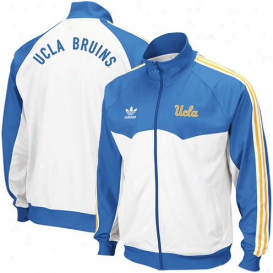 Adidas Ucla Bruins True Blue-white Track Jerkin