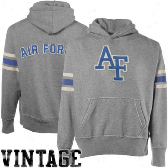 Air Force Falcons Youth Ash Bolt Pullover Hoody Sweatshirt