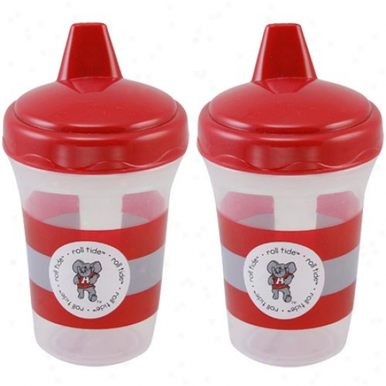 Alabama Crimson Tide 2-pack 5oz. Sippy Cups