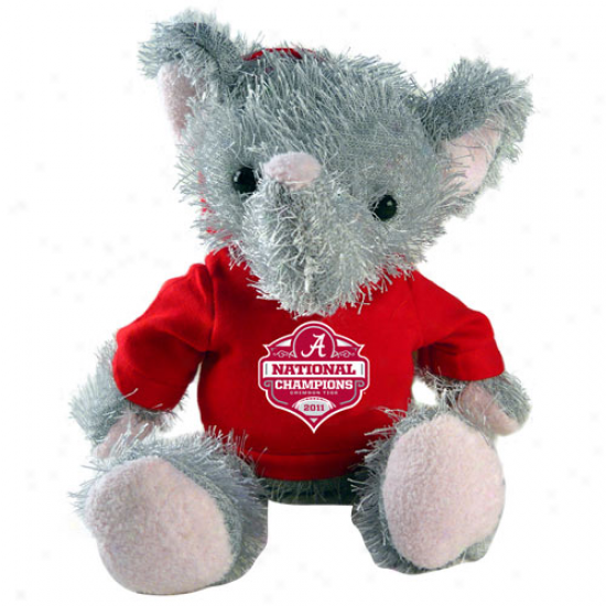 """alabama Crimson Tide 2011 Bcs National Champions 8"""" Plush Mascot"""