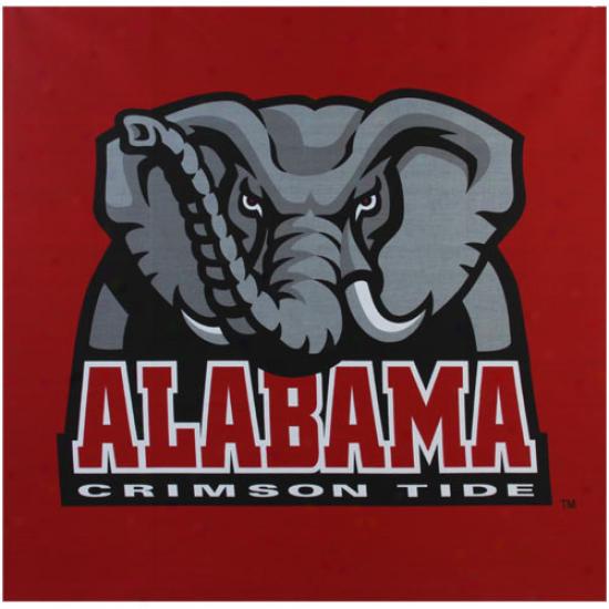 Alabama Crimson Current 35'' X 35'' Giant-danna Bandanna