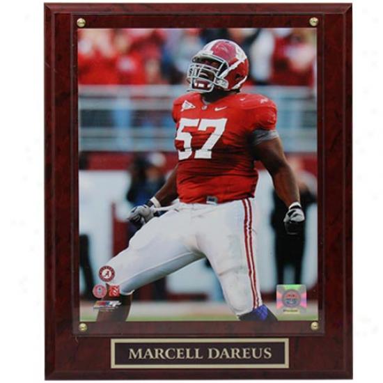 Alabama Crimson Tide #57 Marcell Dareus 10.5'' X 13'' Player Plaque