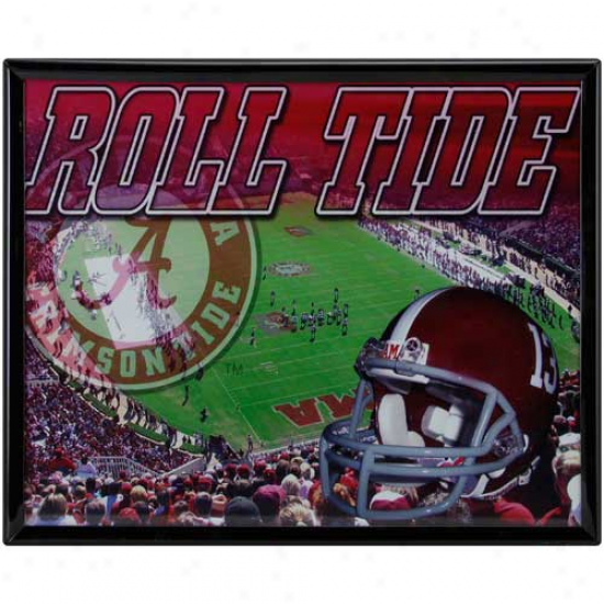 Alabmaa Crimson Tide 8'' X 10'' Stadium Framed Photograph