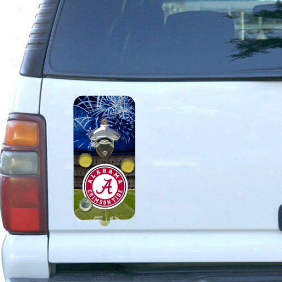 Alabama Crimson Tide Clink-n-drink Magnetic Bottle Opener