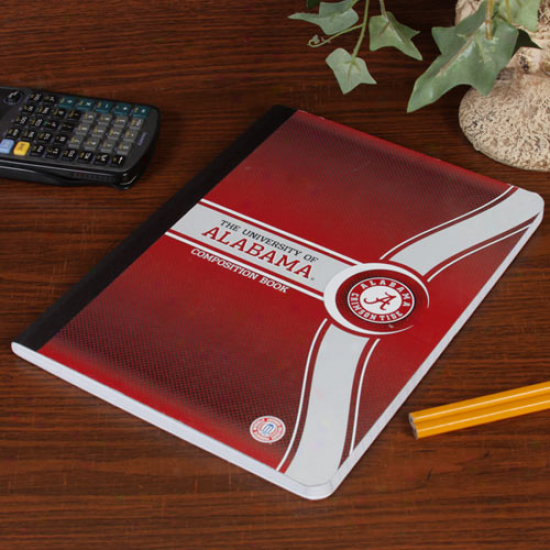 Alabama Crimson Tide Composition Book