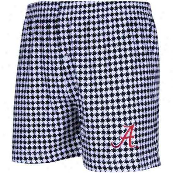 Alabama Crimson Tide Houndstooth Supreme Boxer Shorts