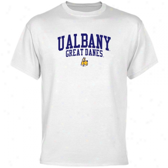 Albany Great Danes Team Arch T-shirt - Of a ~ color