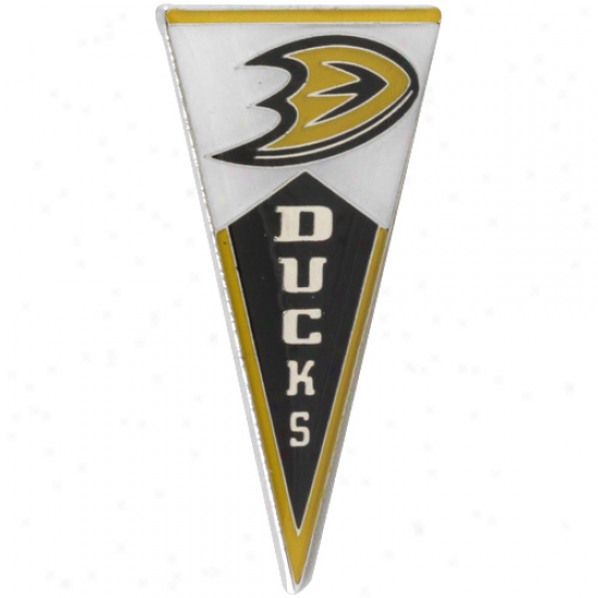Anaheim Ducks Pennant Pin