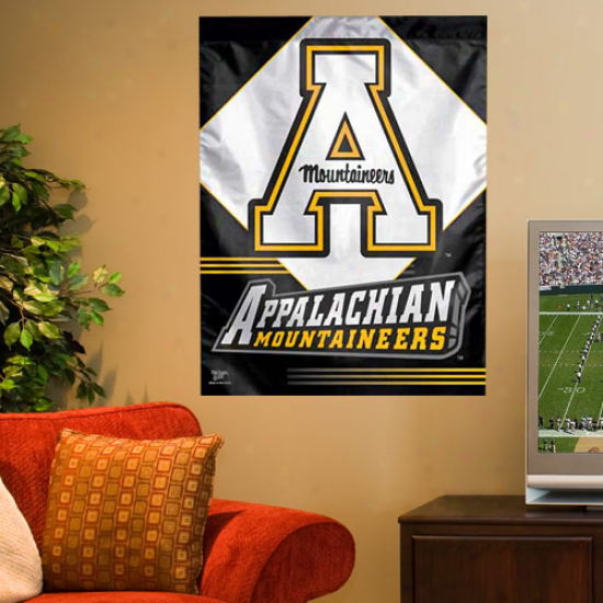 Appalachian State Mountaineers 27'' X 37'' Vertical Banner Flag