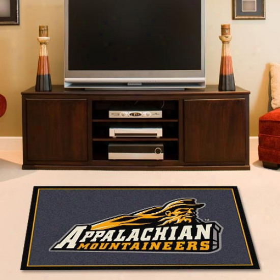 Appalachian State Mountaineers 2'8'' X 3'10'' Collegiate Rug