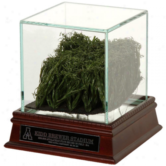 Appalachian State Mountaineers Game-used Turf Display Case