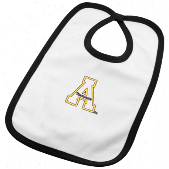 Appalachian State Mountaineers Infant Of a ~ color Team Logo Cotton Bib
