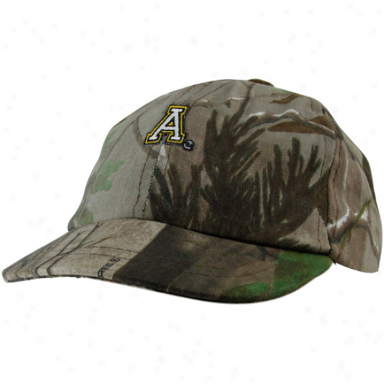 Appalachian State Mountaineers Toddler Realtree Camo Dance Cap