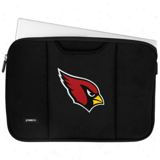 """arizona Cardinals 13""""  Black Laptop Sleeve"""