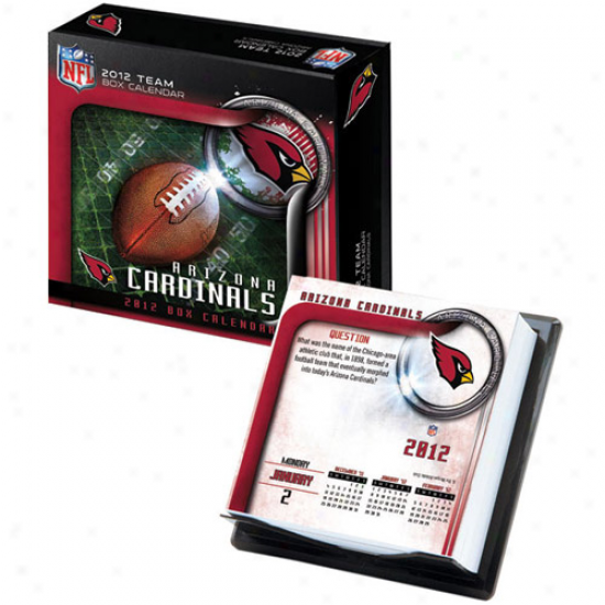 Arizona Cardinals 2012 Boxed Team Calendar