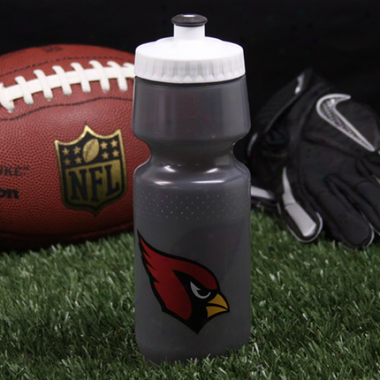 Arizona Cardinals Gray 24oz.wide Mouth Sports Bottle