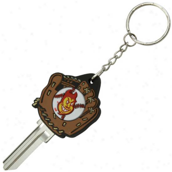 Arizona State Sun Devils Baseball Glove Key Blank Keychain