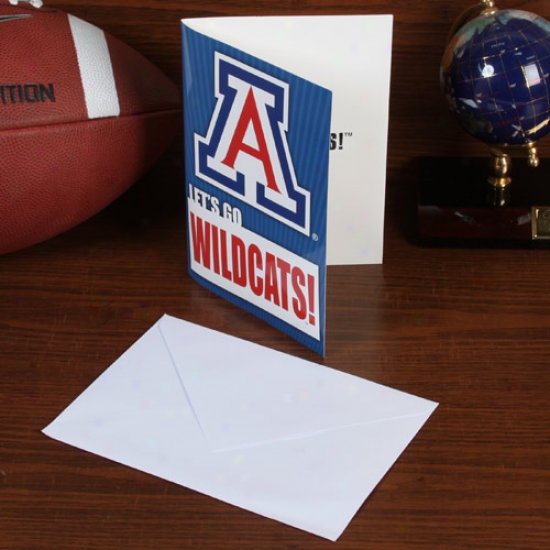 Arizona Wildcats 5'' X 7'' Musical Card