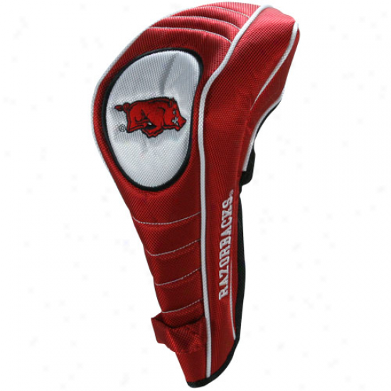 Arkansas Razorbacks Cardinal Shaft Gripper Driver Headcover