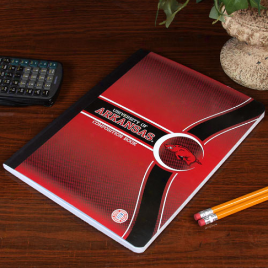 Arkansas Razorbacks Composition Book