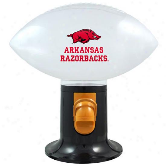 Arkansas Razorbacks Football Snack Dispenser